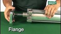 Cilindro Pneumático Atirantado ISO 80