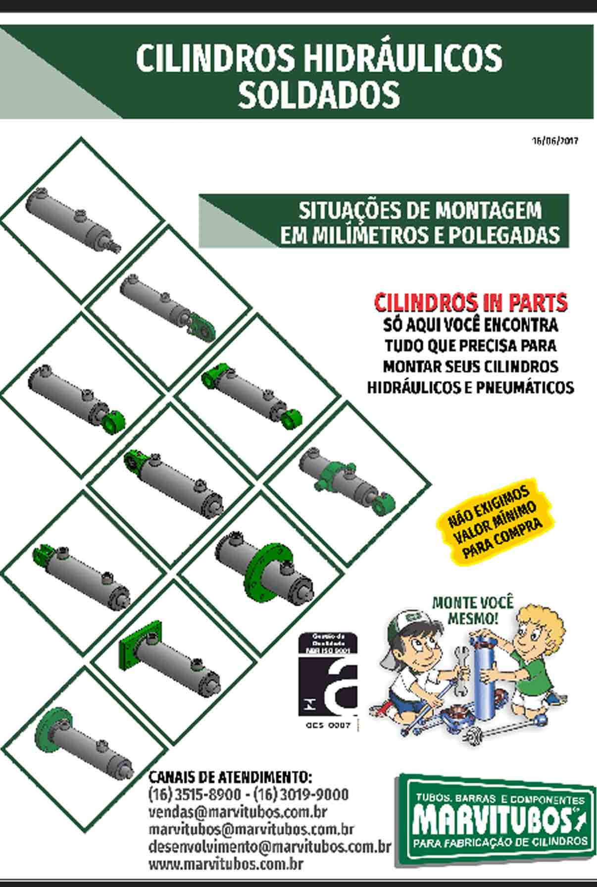 CILINDRO MOBIL - SITUAÇÕES DE MONTAGEM