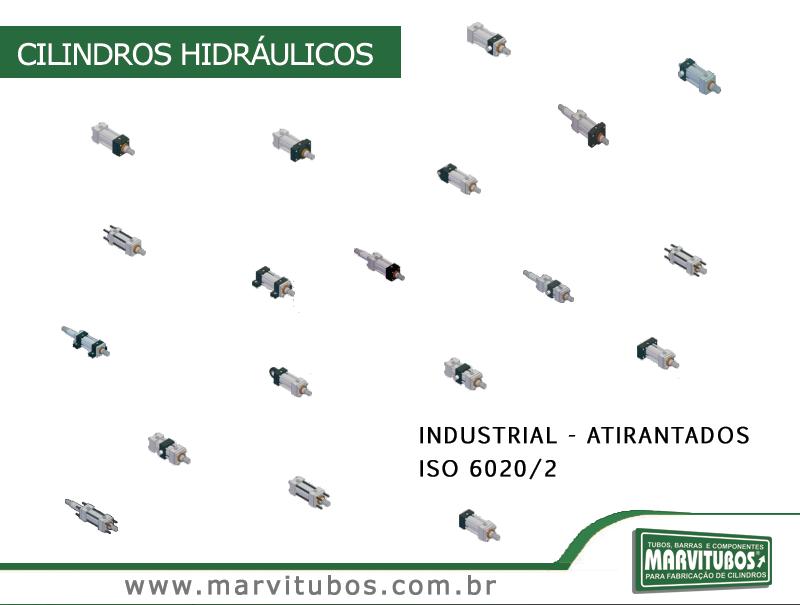 CILINDROS HIDRÁ�ULICOS INDUSTRIAL - ATIRANTADOS