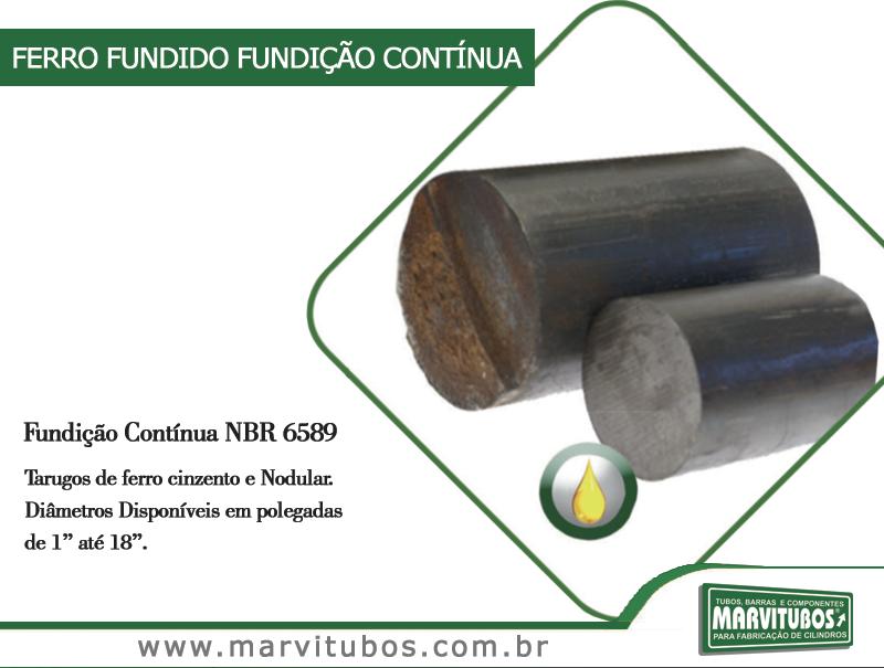Marvitubos - Ferro fundido fundição contínua