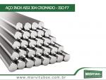 AÇO INOX AISI 304 CROMADO - ISO F7